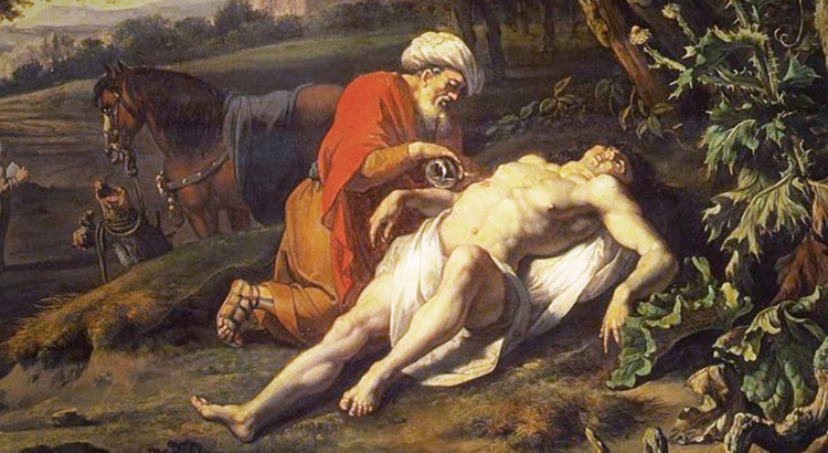 The Good Samaritan by Jan Wijnants