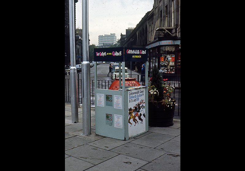 9. Kiosk in Princes Street, (Chapter 46)