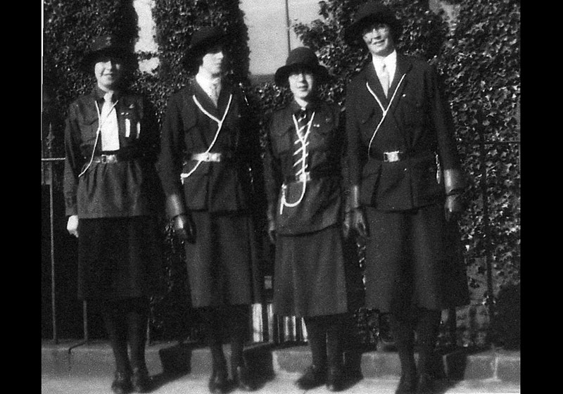 Girl Guides, historical